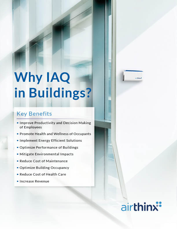 Airthinx Buildings Flyer - Front