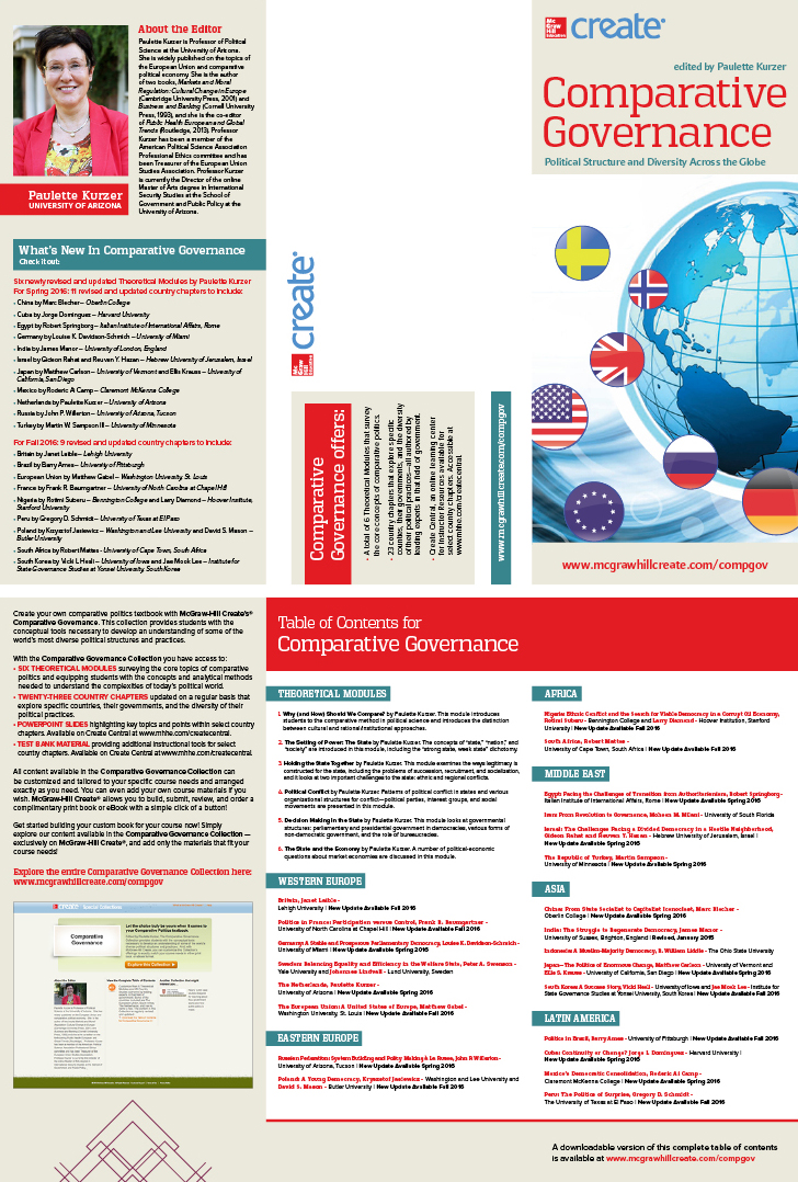 McGraw-Hill | Comparative Governance Brochure