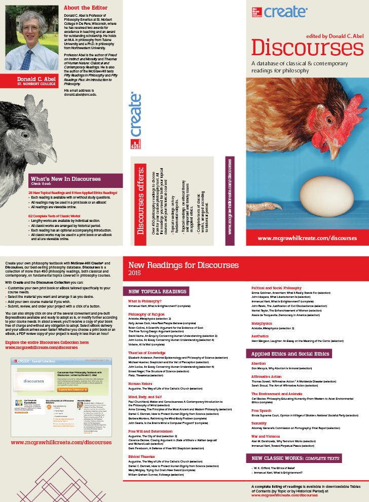 McGraw-Hill | Discourses Brochure
