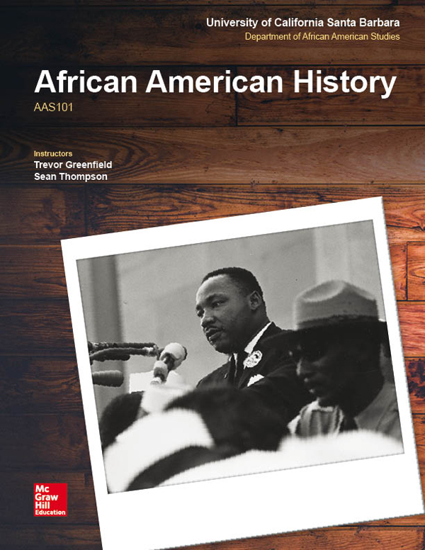 McGraw-Hill African American Studies Template Cover