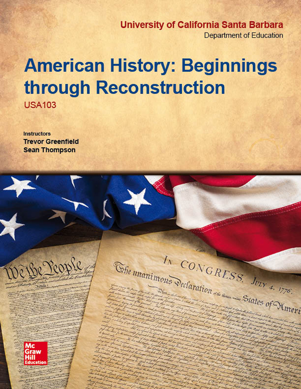 McGraw-Hill American History Template Cover