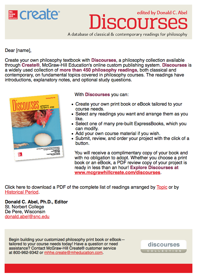 McGraw-Hill Education Email Campaign