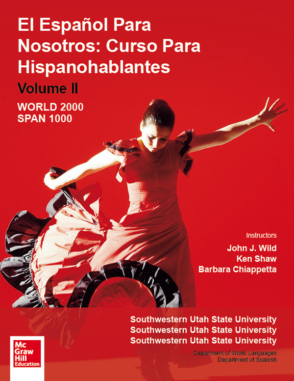 McGraw-Hill Spanish Template Cover