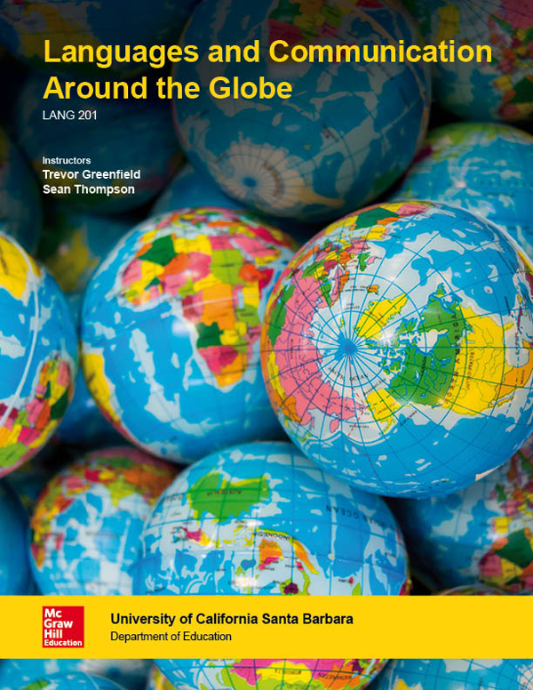 McGraw-Hill World Language Template Cover